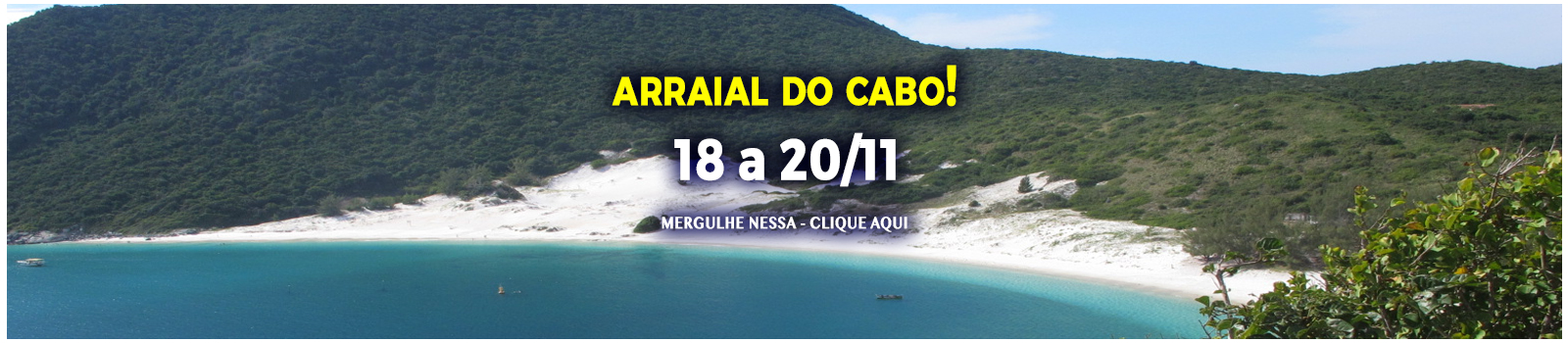 Arraial do Cabo com a Alto Mar
