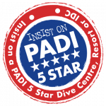 Alto Mar Mergulho Padi CDC 5 Star